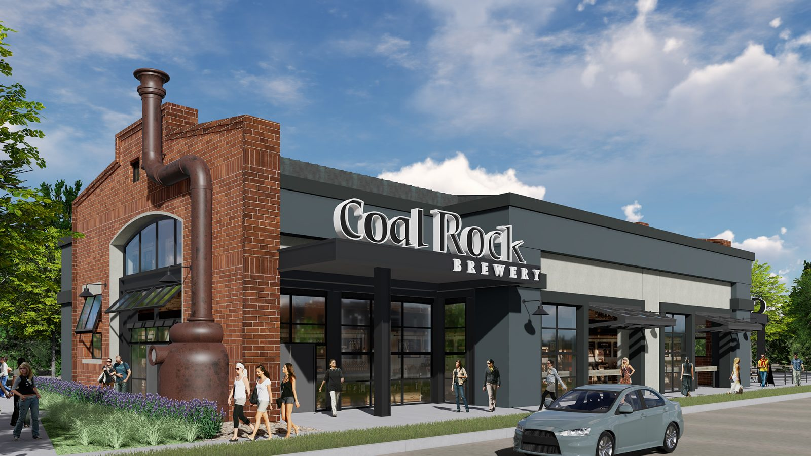 Downtown Superior: Community Rendering Brewery