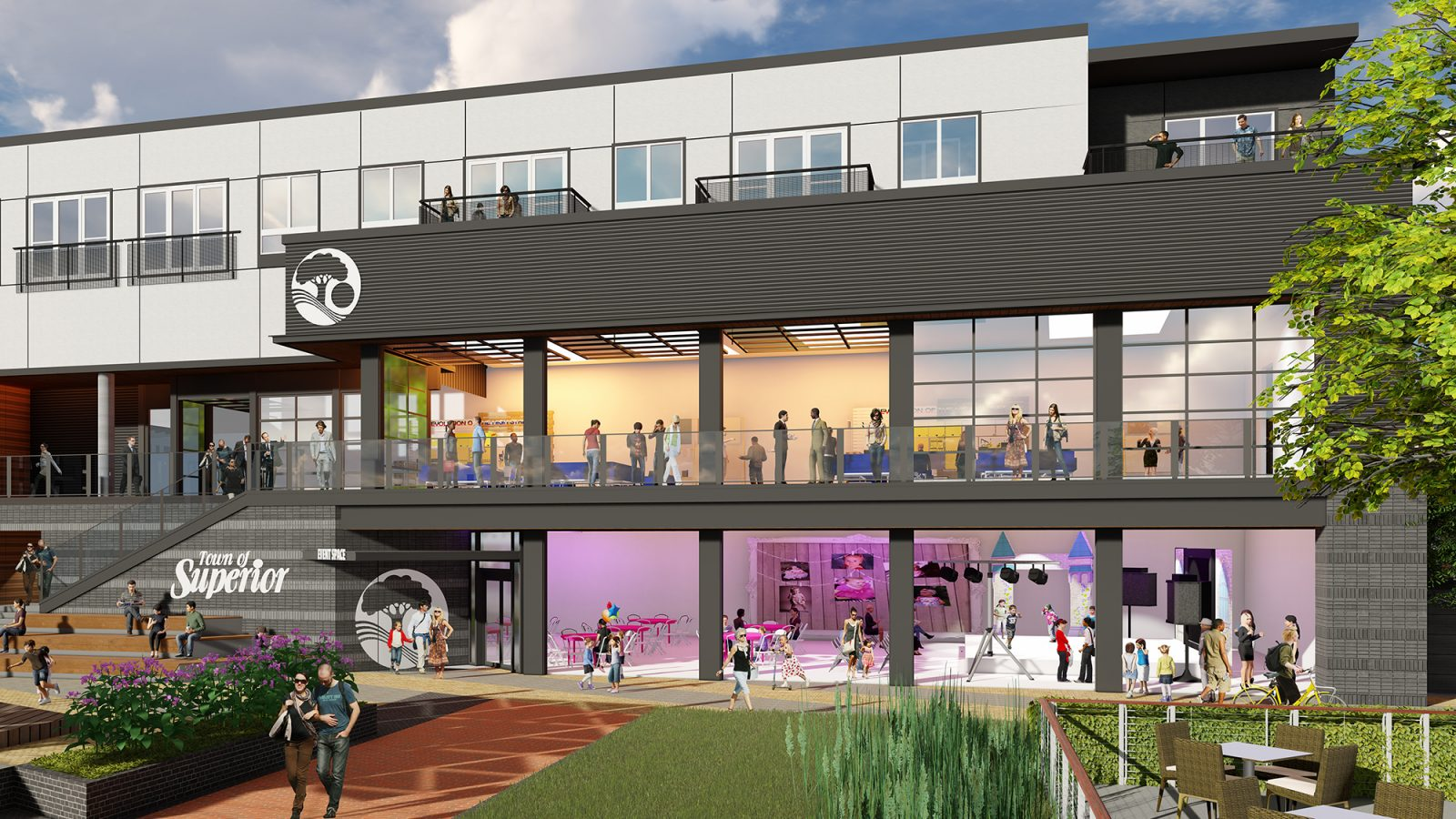 Downtown Superior: Community Rendering