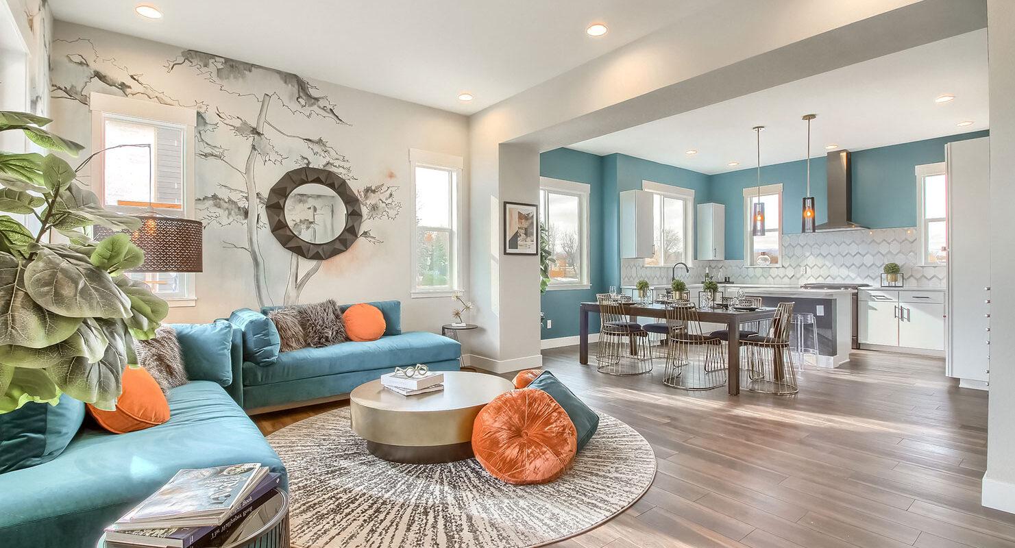 WestRidge: Simms - Living Area