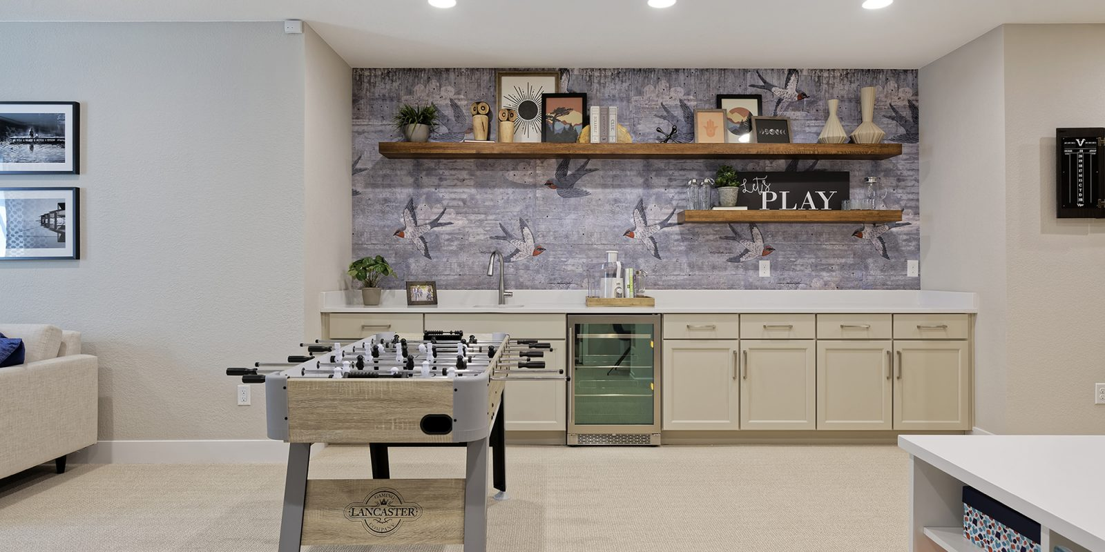 Vitality Collection: Revive - Finished Basement Wet Bar