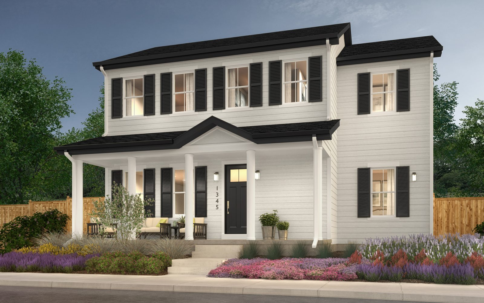 Vitality Collection: Renew Exterior - Colonial Elevation