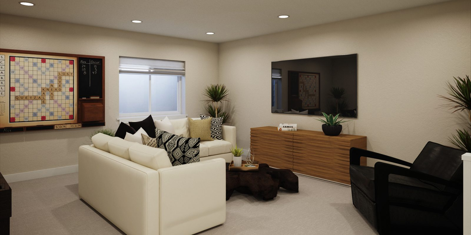 Vitality Collection: Renew - Finished Basement