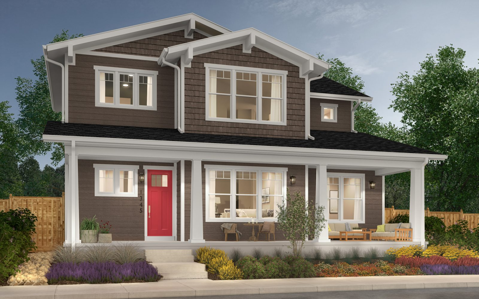 Vitality Collection: Revive - Craftsman Elevation