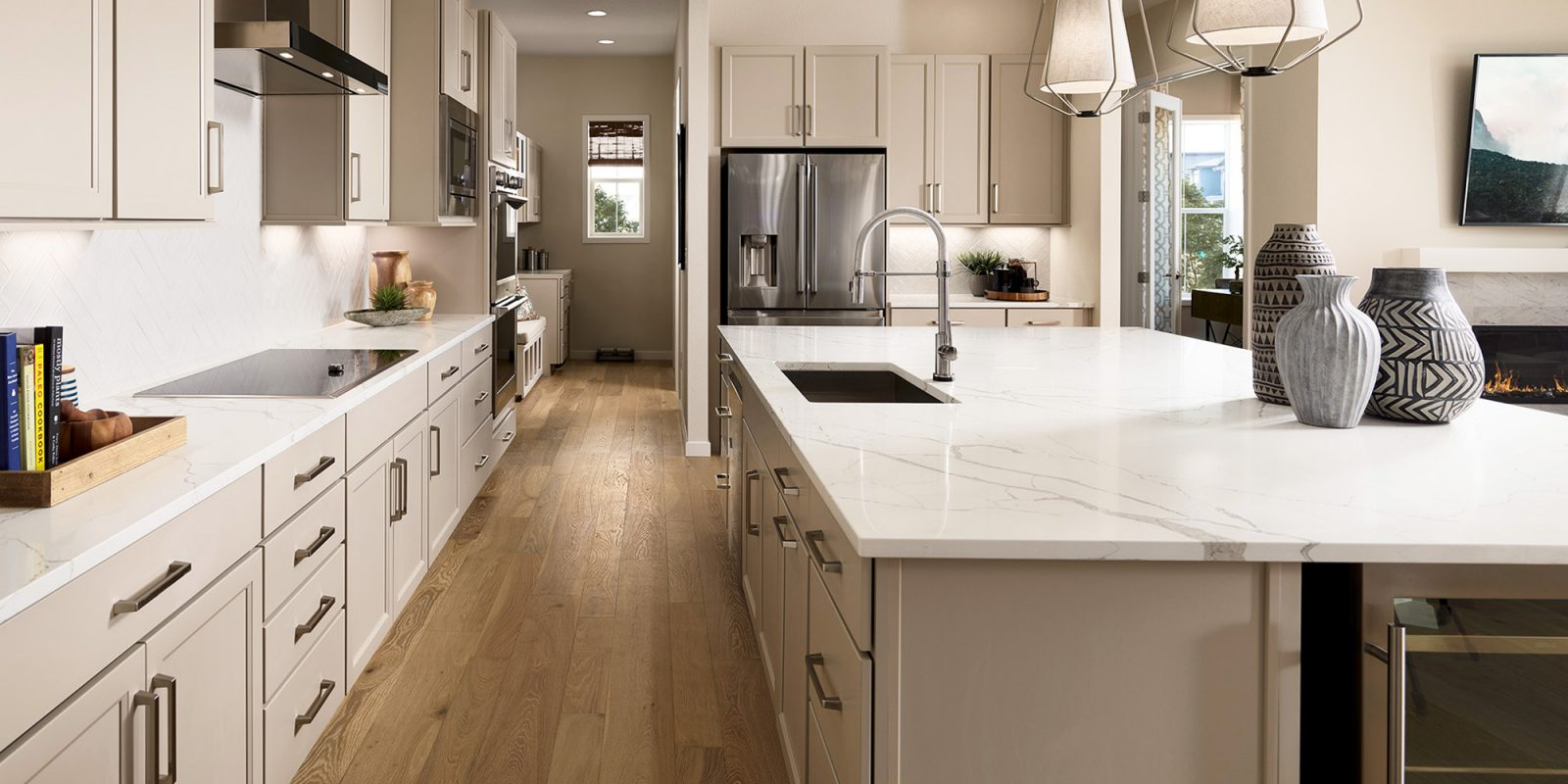 Vitality Collection: Revive - Kitchen and Rear Family Foyer