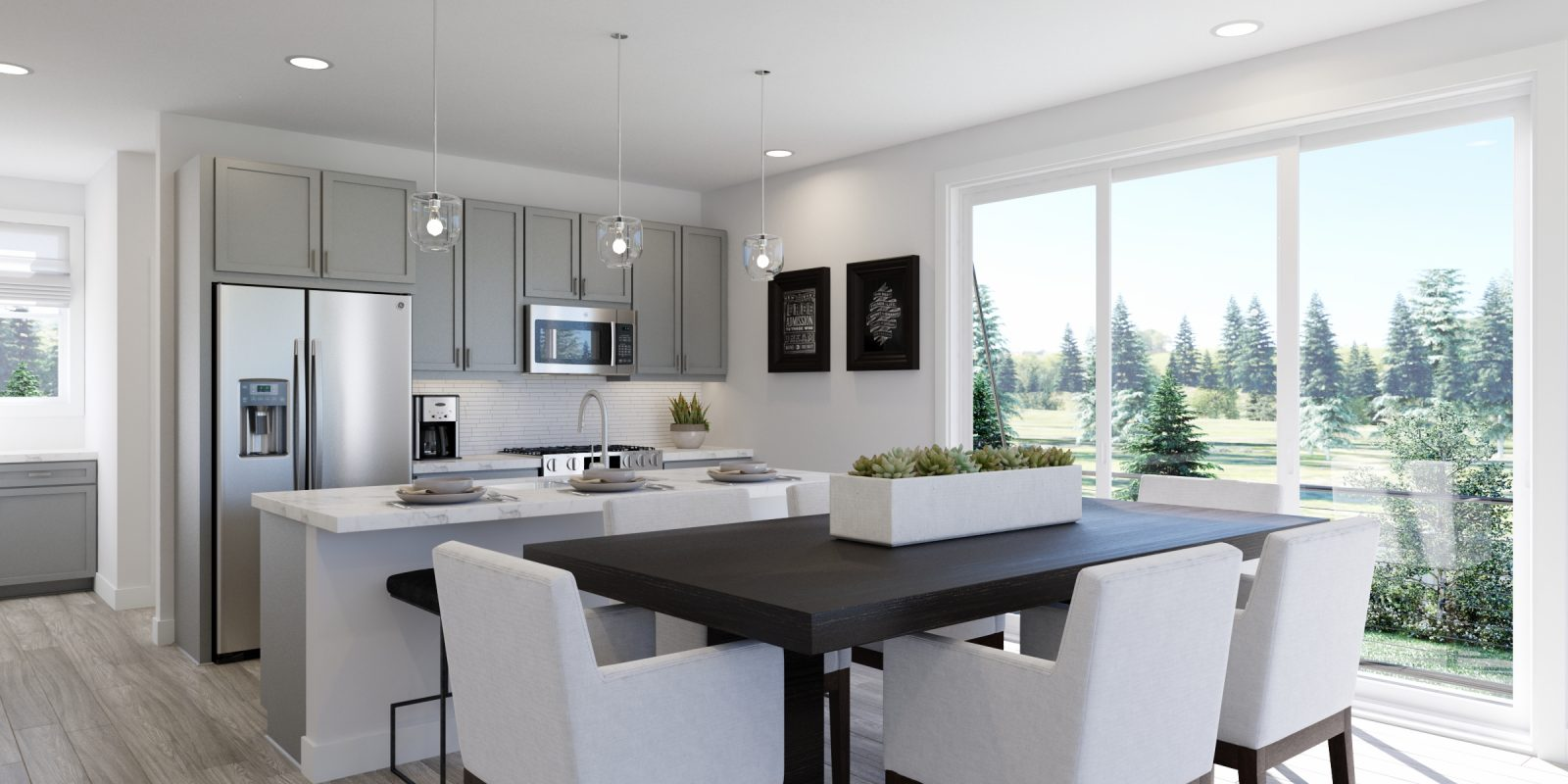 WestRidge DoMore Rows: Haven - Kitchen and Dining