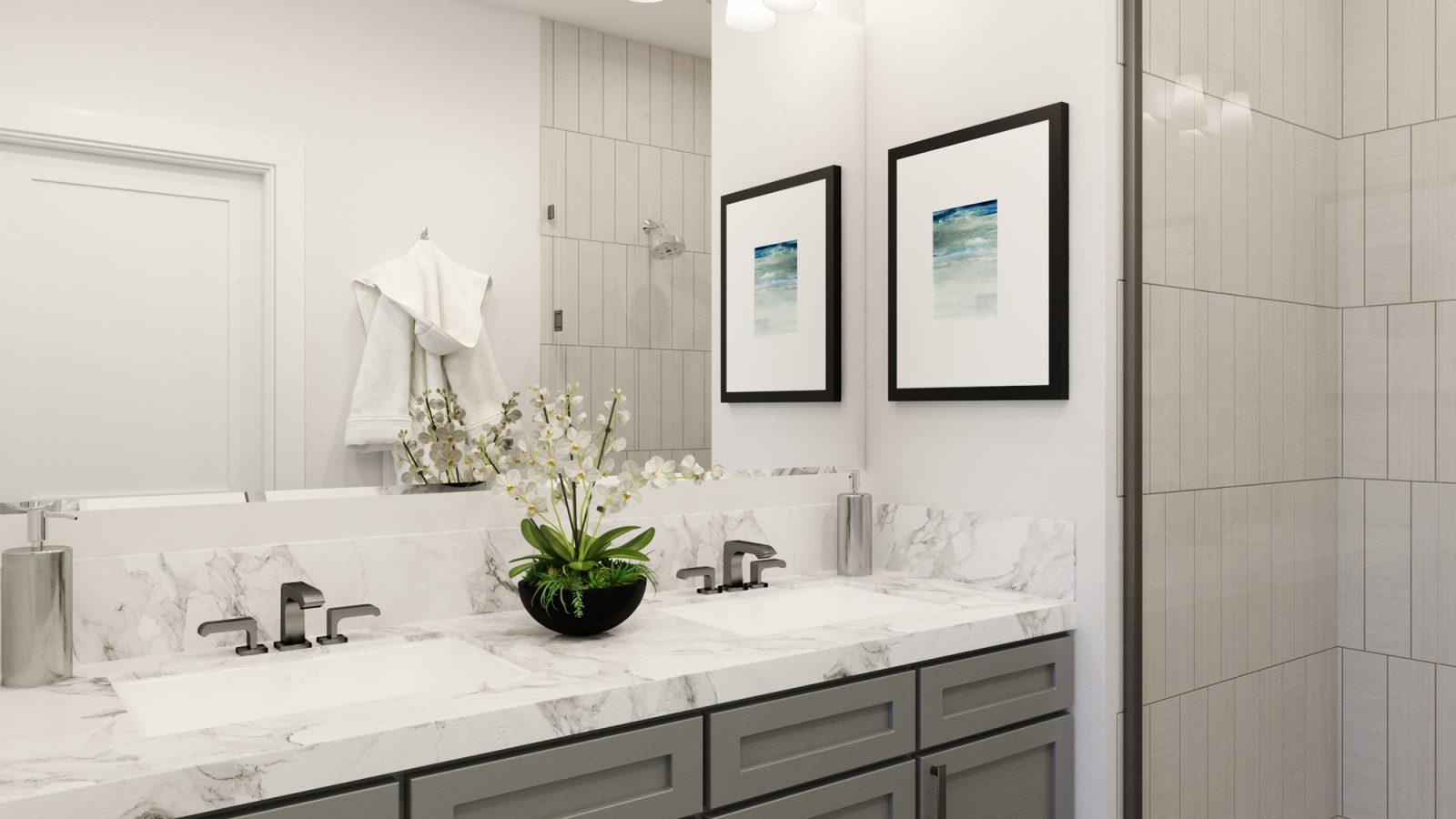 WestRidge DoMore Rows: Haven - Master Bathroom