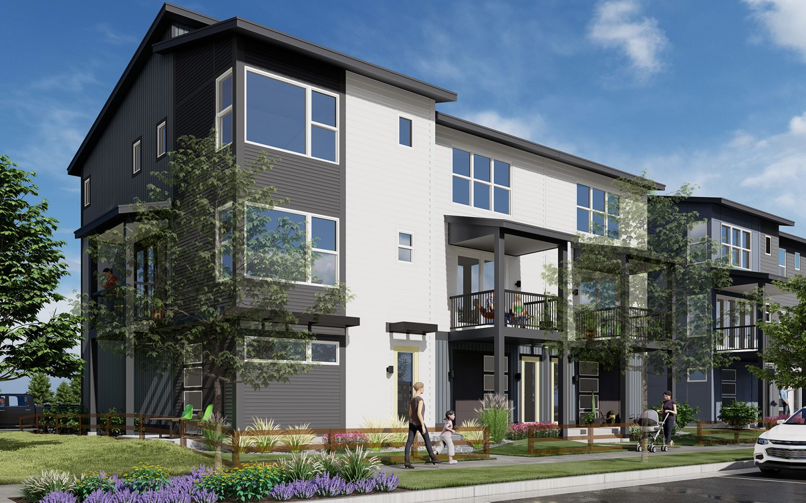 Baseline DoMore Rows: Exterior Rendering
