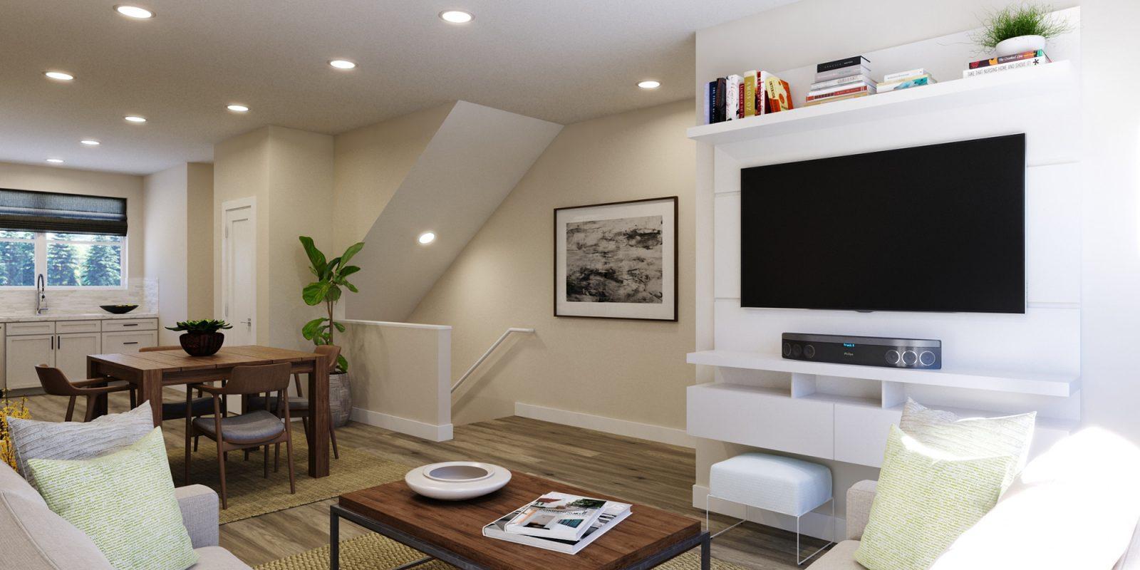 Baseline DoMore Rows: Escape - Living Room