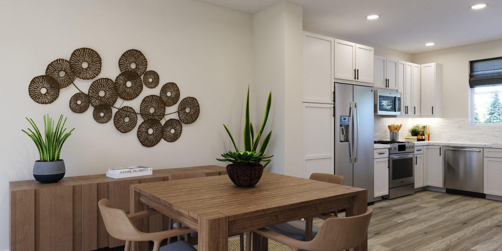 Baseline DoMore Rows: Escape - Dining Nook
