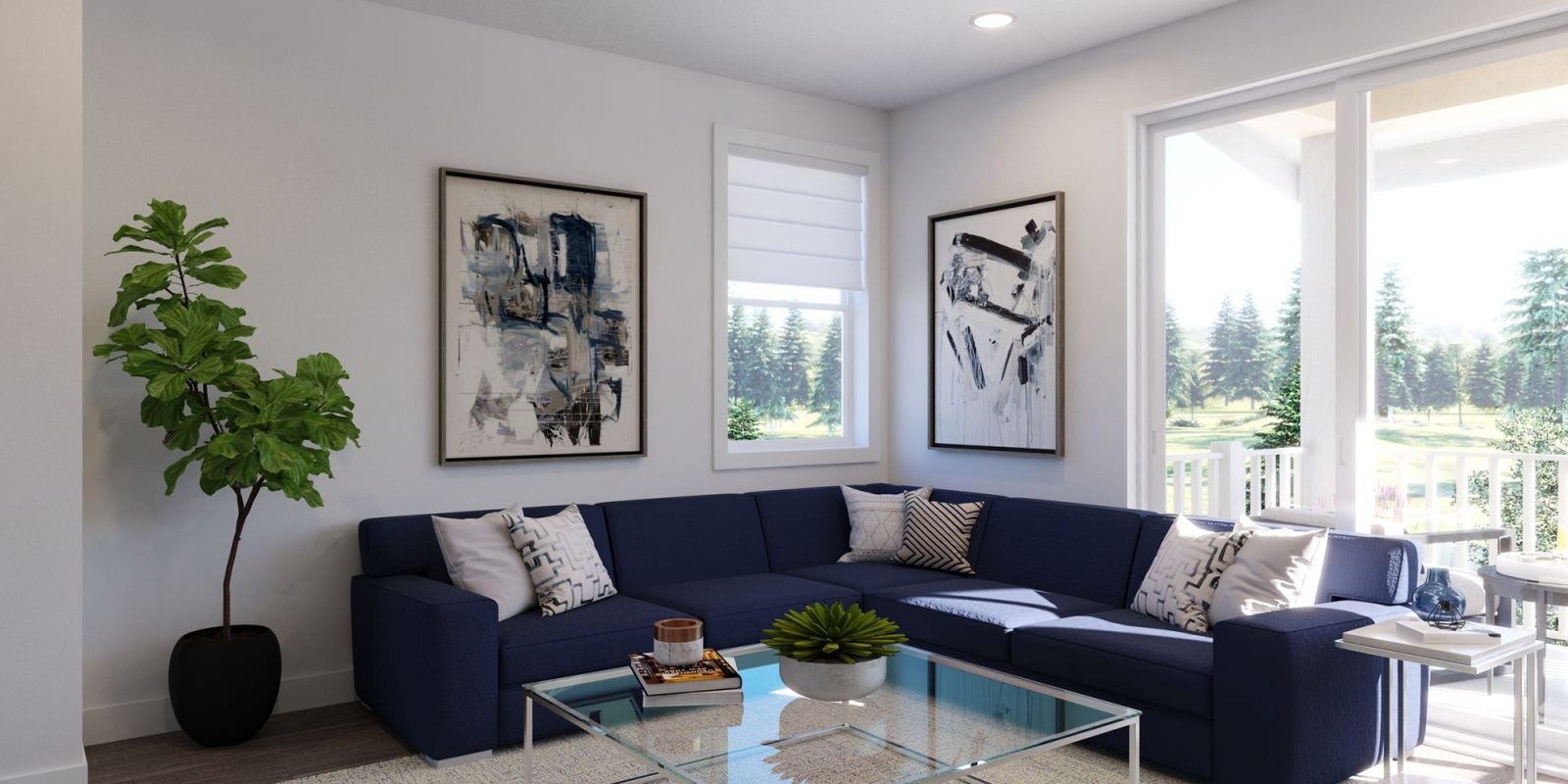 Baseline DoMore Rows: Oasis - Living Room
