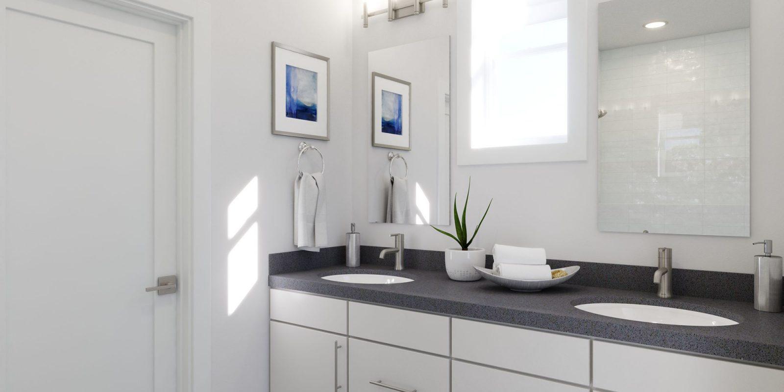 Baseline DoMore Rows: Oasis - Master Bathroom