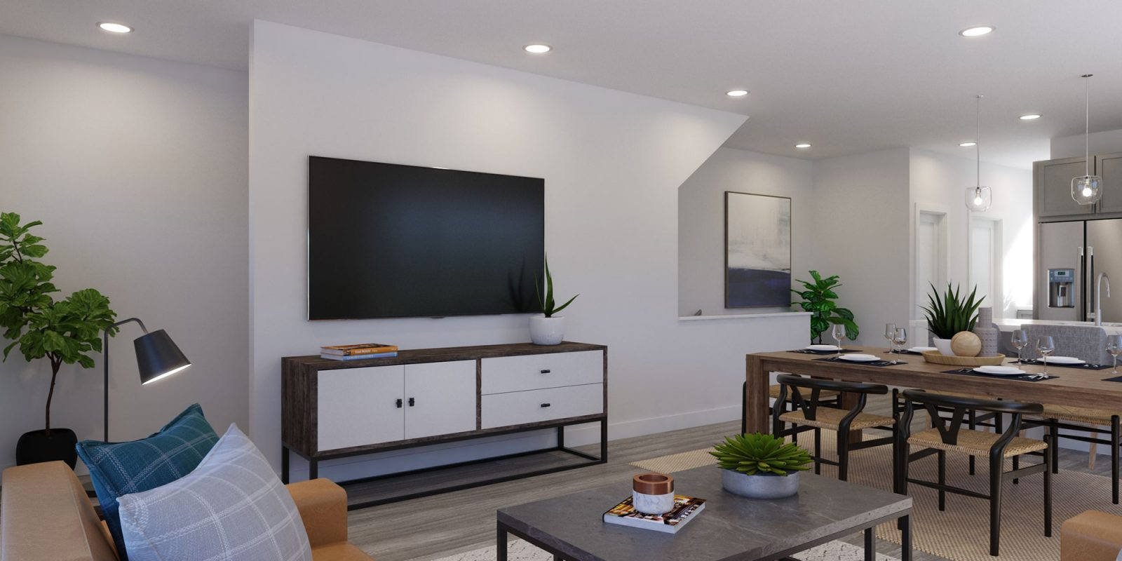 Baseline DoMore Rows: Haven - Living Room