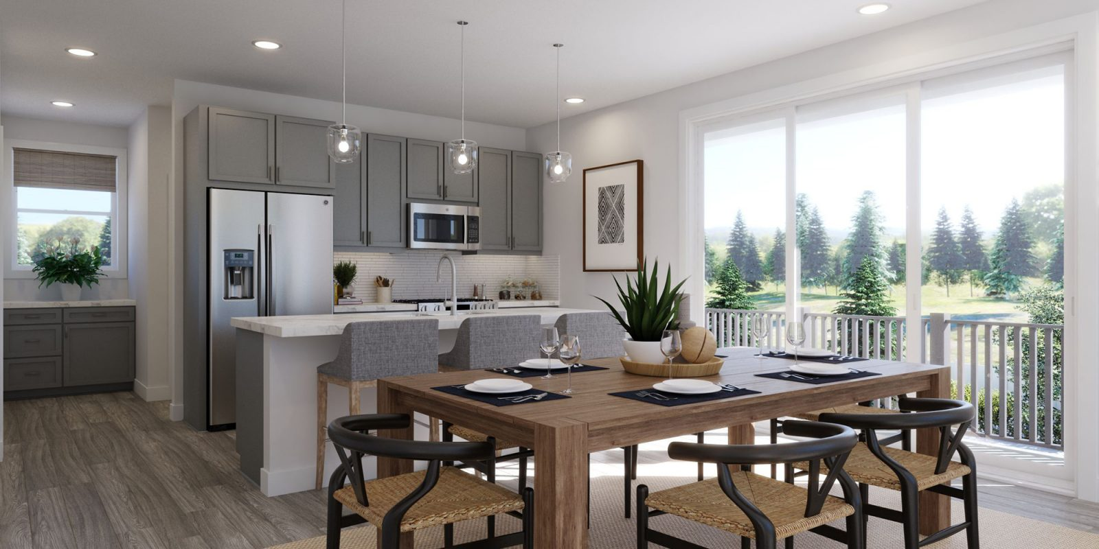 Baseline DoMore Rows: Haven - Dining Nook