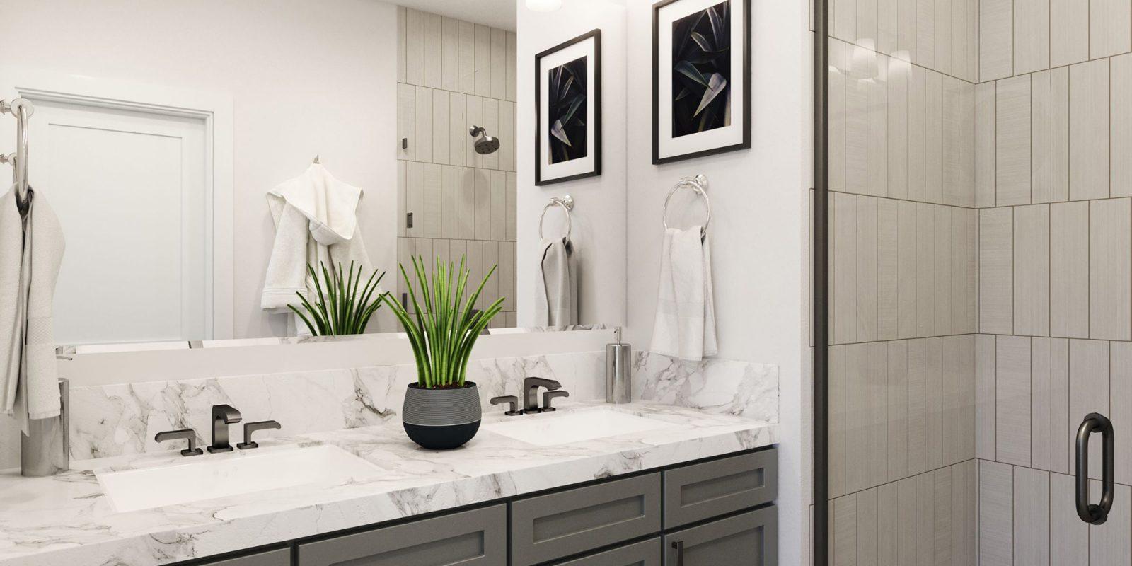 Baseline DoMore Rows: Haven - Master Bathroom