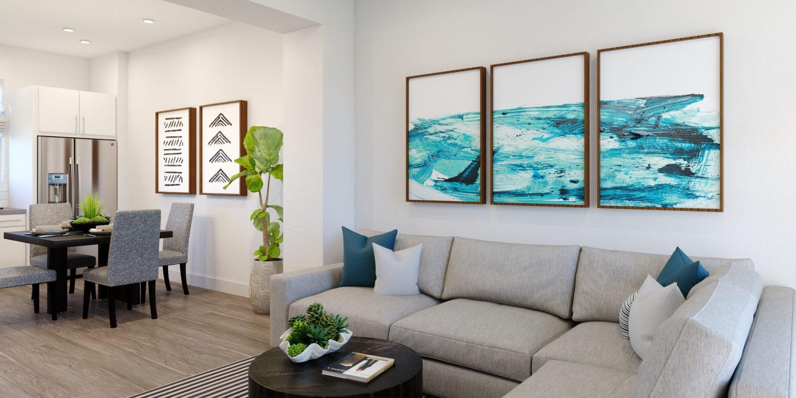 Downtown Superior: Parkland - Living Room