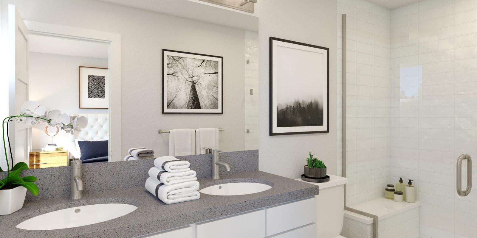 Downtown Superior: Parkland - Primary Bathroom