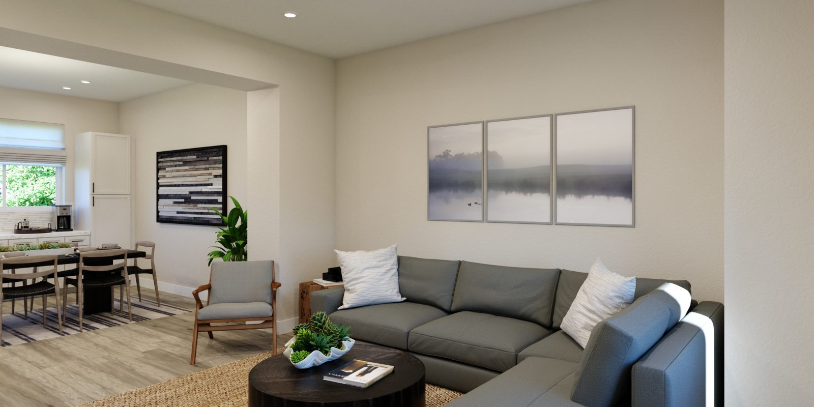 Downtown Superior: Uptown - Living Room