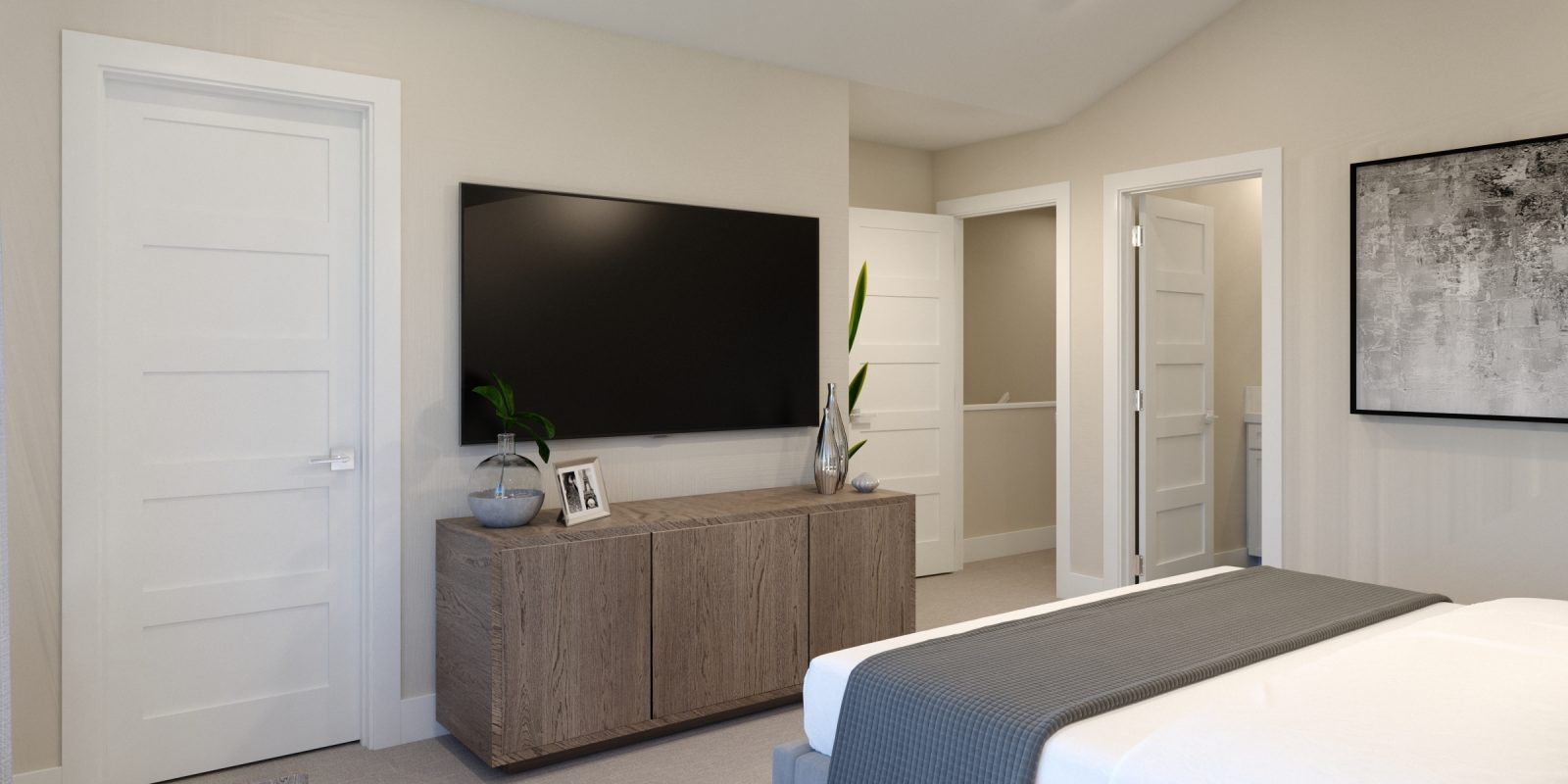 Downtown Superior: Uptown - Primary Bedroom