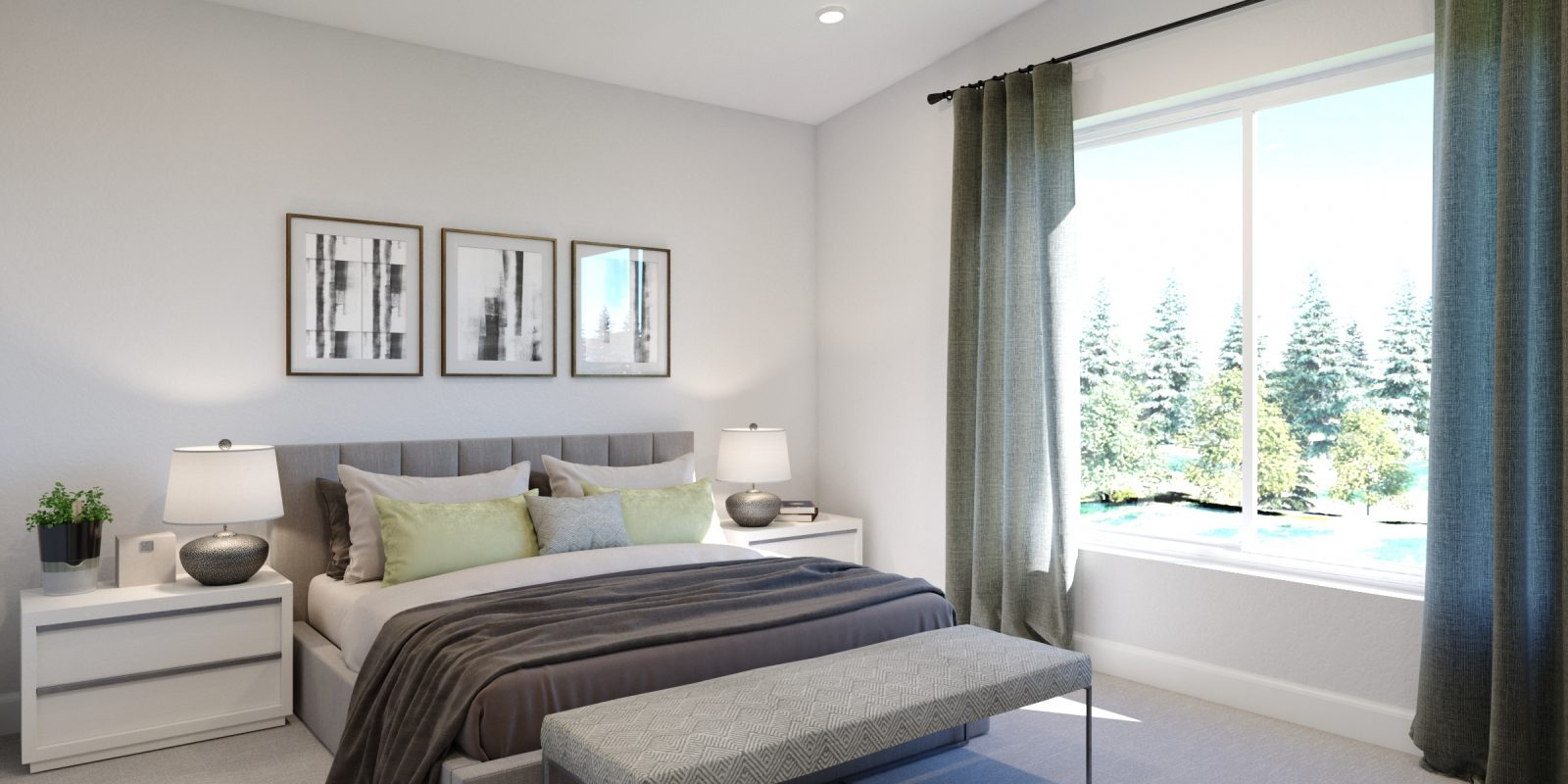 Downtown Superior: Marquee - Primary Bedroom